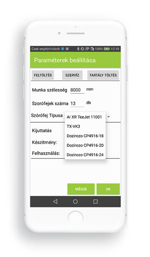 Temposensor basic mobile application